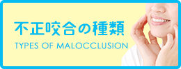 不正咬合の種類 TYPES OF MALOCCLUSION